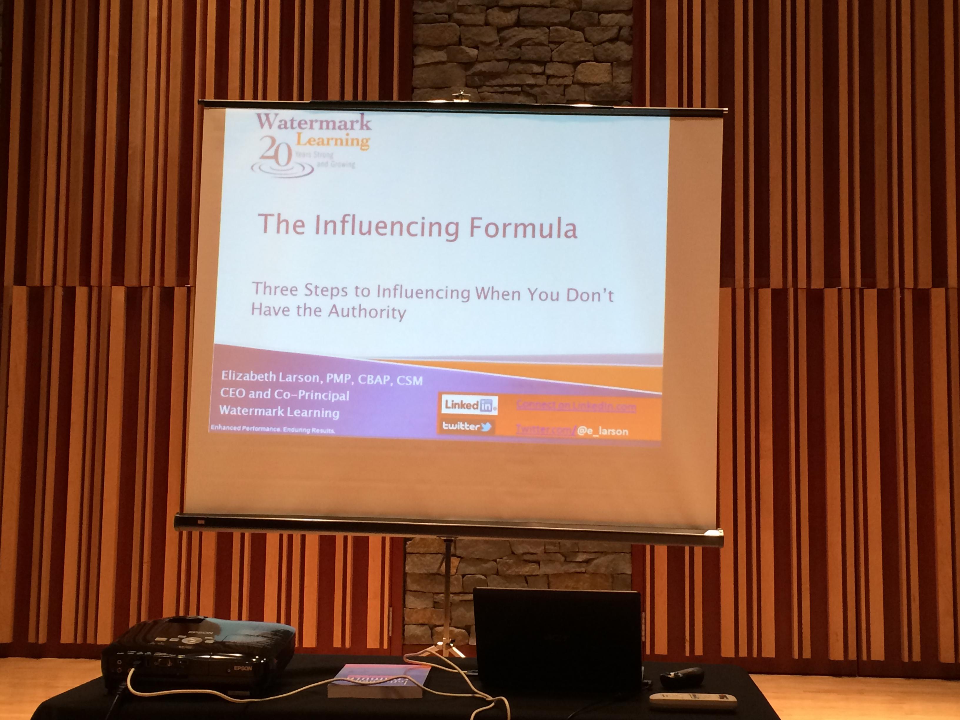 The Influencing Formula - Frank Yang