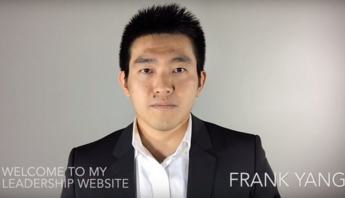Introduction Video for FrankYang.ca