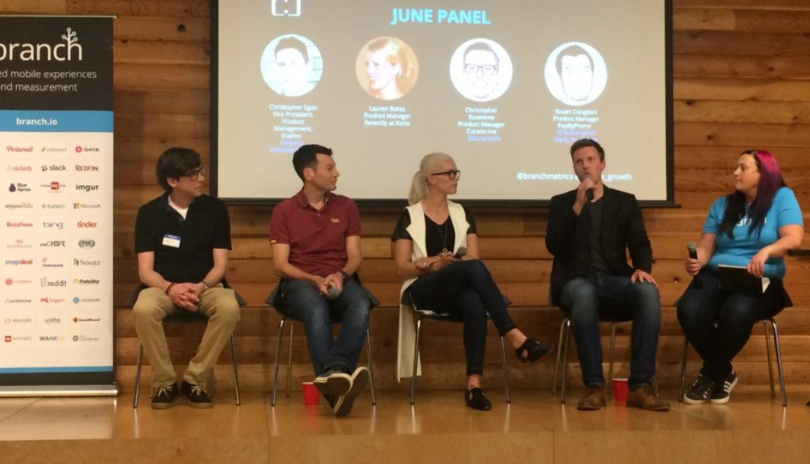 Mobile Growth Vancouver with Staples, Koho, Curatio and PayByPhone